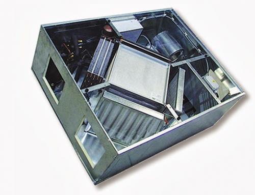 Recuperador de calor para ventilación
